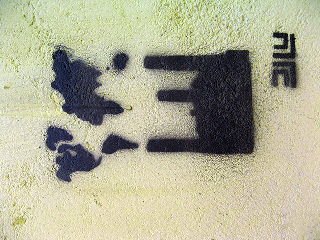 this is an image of a stencil expressing the super mario mushroom